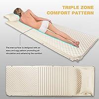 Amazon.com: KingCamp - Colchón hinchable para acampada ...