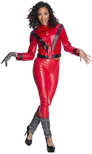 Charades Michael Jackson Women's Costume, As Shown, Medium]()