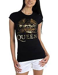 Womens Queen Gold Logo T-Shirt