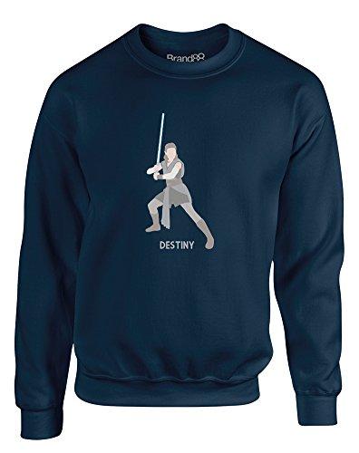 Brand88 Her Destiny, Kids Sweatshirt - Navy 7-8 Years