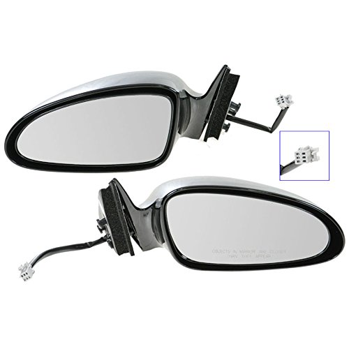 Power Side View Mirrors Left LH & Right RH Pair Set of 2 for 00-07 Monte Carlo