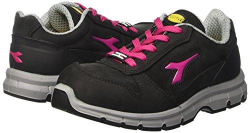 37 rosso Mixte Run nero Fucsia S3 Chaussures Travail Diadora Eu De Noir Adulte Low 7vxw16Y
