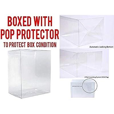 Funko Pop! Soccer: Liverpool F.C. - Virgil Van Dijk #16 Vinyl Figure (Includes Compatible Pop Box Protector Case): Toys & Games