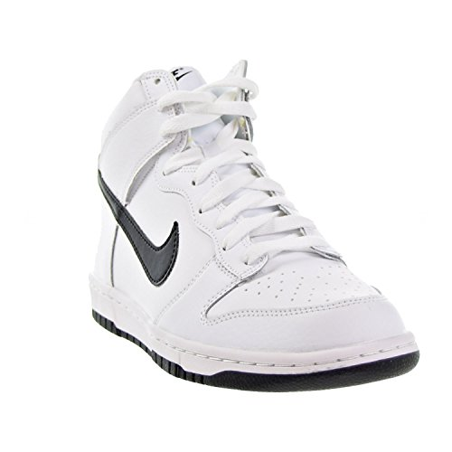 Nike Dunk Hi, Scarpe da Ginnastica Uomo Elfenbein (White/black)