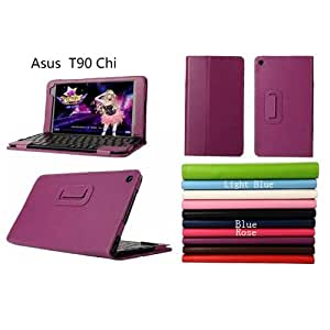"""YHC Color Black Keyboard Stand Leather Bag Case Fundas Cover For 8.9"""" ASUS Transformer Book T90 Chi"""