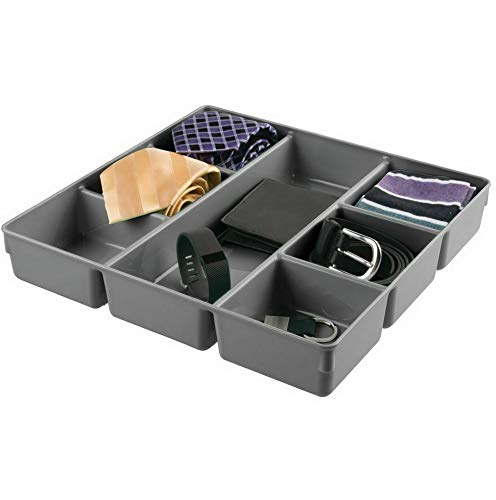 Hebel Plastic Dresser Drawer Storage Tray, 7 Sections | Model DRSSR - 427 |