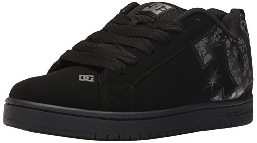 dc-mens-court-graffik-se-skateboarding-shoe-black-print-9-m-us
