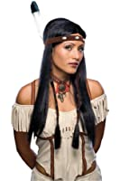 Rubie's Costume Characters Sexy Native American Wig