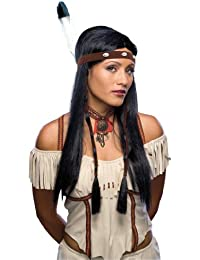 Costume Characters Sexy Native American Wig