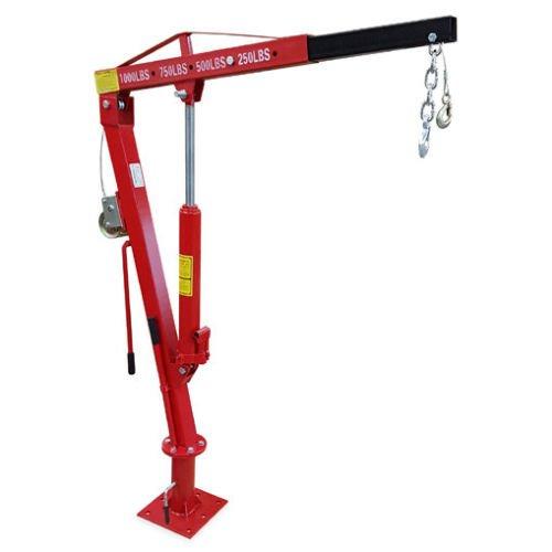 1000# Winch Truck Jib Crane (Pickup Crane)