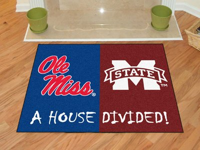 Mississippi - Mississippi State House Divided Rugs 34