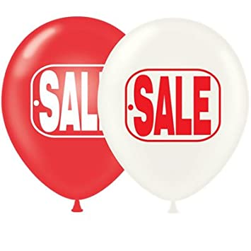 Amazon Com 17 Inch Sale Balloons Premium Outdoor Helium Quality By Tuftex 50 Ct Office Products Office Products