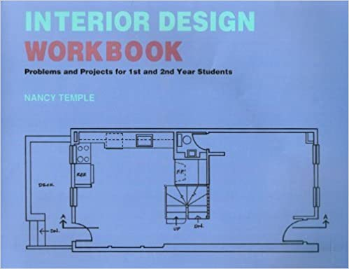 Interior Design Workbook Problems And Projects For 1st 2nd Year Students Nancy Temple 9780442009533 Amazon Books