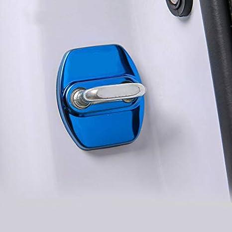 Stainless Steel Car Door Lock Protection Cover for Hyundai Creta ix25 ix35 i20 i30 i40 Tucson Solaris Accessories 2019