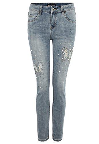 Vestino - Jeans Donna Blu Denim