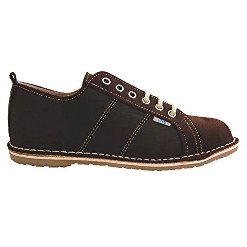 Zapatos con Cordones - Piel de Ante - Sneaker - Hombre Marron