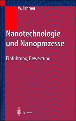 Book Nanotechnologie und Nanoprozesse: Einführung, Bewertung (German Edition)