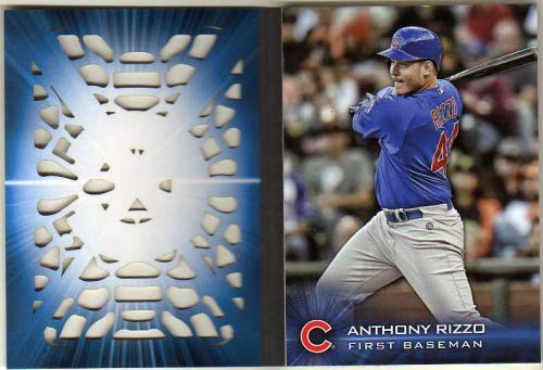 - 2016 Topps Laser #TLARI Anthony Rizzo S2 - Die-Cut Booklet Insert Card - Chicago Cubs