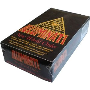 1994-1995 ILLUMINATI NEW WORLD ORDER Card Game Factory SEALED CCG (INWO: Unlimited Booster Pack POP)(576 cards total)By Steve Jackson(Unlimited Edition ORIGINAL VERSION 1.1 MARCH 1994-1995)