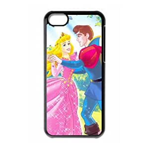 iPhone 5c Cell Phone Case Covers Black Sleeping Beauty O2450899