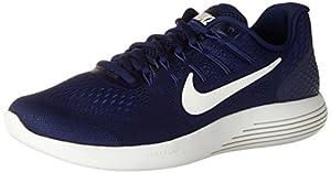 NIKE Men's Lunarglide 8 Running Shoe Binary Blue/Summit White/Black Size 12 M US