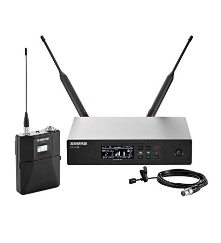 Shure QLXD14/93 Wireless System with WL93 Subminiature Lavalier Microphone, G50