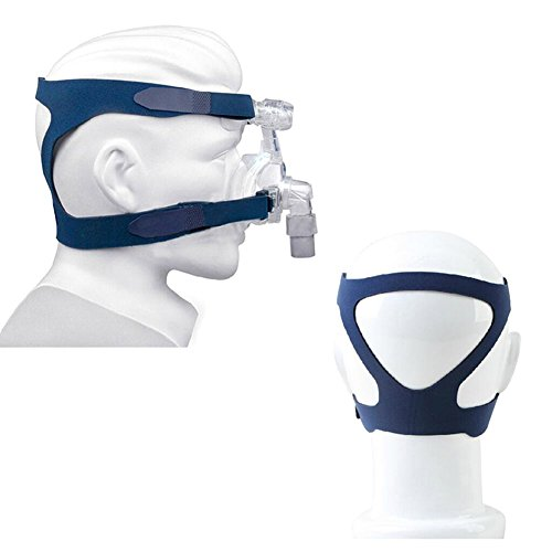 Universal Headgear Full Mask Replace Part CPAP Ventilator Headband (Without Mask) (Blue) by Prizemall