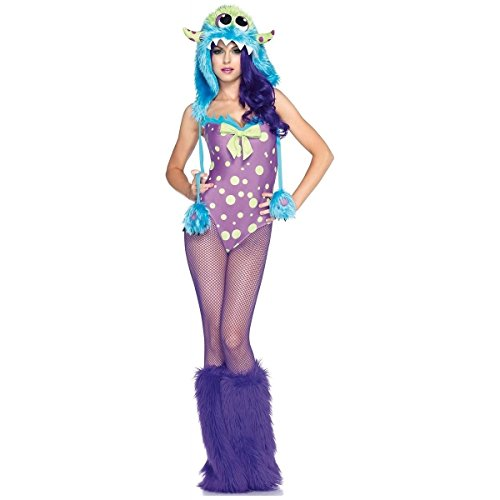 [Flirty Gerty Costume - Medium - Dress Size 8-10] (Flirty Gerty Halloween Costume)