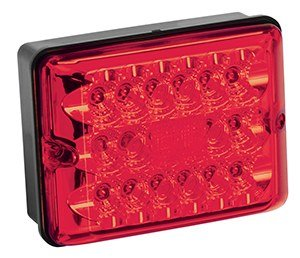 BRETT EQUIPMENT BARGMAN 47-86-101 LED Light Module Single STT RED
