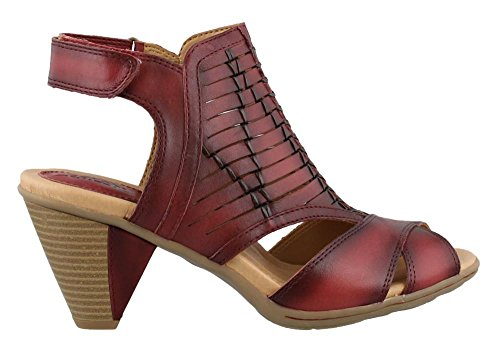 Earth Libra Women US 5 Red Slingback Sandal
