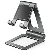 iPad Stand for Tablet Holders Adjustable iPhone Mobile Cell Phone Desk Stands for Nintendo Switch Playstand