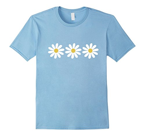 3 Simple but Pretty Daisy Flower T - Flower Daisy T-shirt