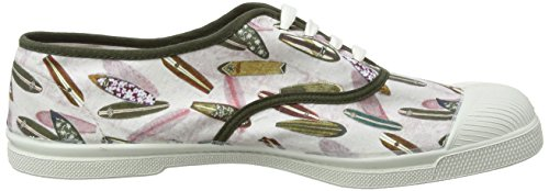 8024 Uomo Surf planchette Laces Tennis Multicolore Ginnastica Prints Bensimon Stampate Da Scarpe waqU1