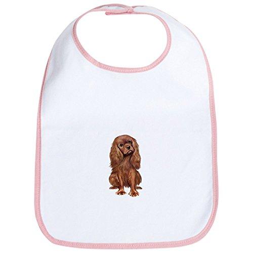Cavalier Ruby - CafePress - Ruby Cavalier 1 - Cute Cloth Baby Bib, Toddler Bib