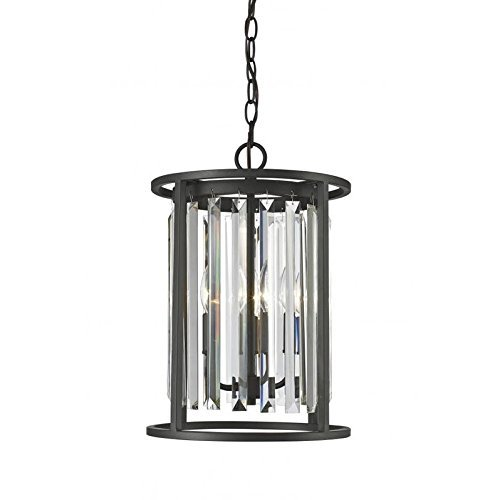- 3 - Light Contemporary Chandelier with Shade