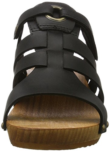 Sanita Women's Oline Sandal Mules Black (Black 2) HS1KIMJ