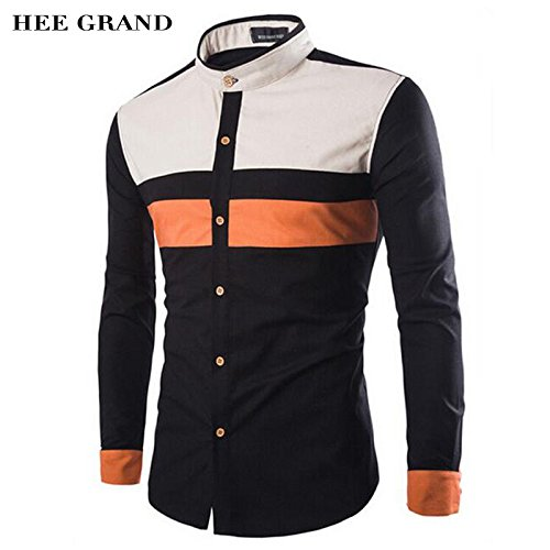 Buy New Fashion Men Shirt 2017 High Quality Business Shirt Design Men Cloths Casual Male Shirt Plus Size M 4xl At Amazon In