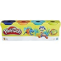 Playdoh B5517 - Set 4 botes pasta, colores surtidos