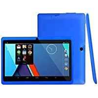 Tiean 7Inch Tablet PC ,Google Android 4.4 Duad Core Tablet 1GB + 8GB Dual Camera Wifi Bluetoot