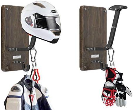 Soporte para casco y perchero de pared - VT-02 Helmet Hanger ...