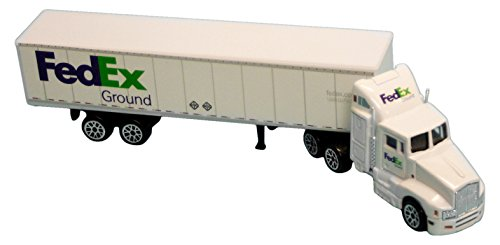 Toy Semi Truck (Daron FedEx Ground Tractor Trailer)
