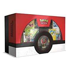 Shining Pokemon of Legendary Stature! The Legendary Pokemon Ho-Oh is said to bring joy to any Trainer who sees it— particularly when it appears as a magnificent sculpted figure, plus a full-art promo card that paints this Rainbow Poke...