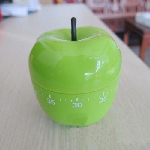 Hanerdun® Green Apple Kitchen Timer, Mechanical Timer, Pric