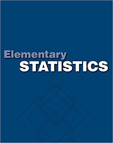 Amazon student solutions manual elementary statistics a step student solutions manual elementary statistics a step by step approach 7th edition fandeluxe Image collections
