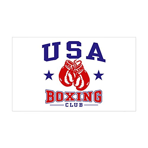 CafePress - USA Boxing - Rectangle Bumper Sticker Car Decal