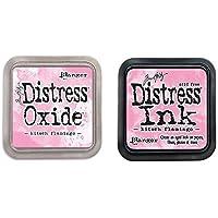 New! Tim Holtz Kitsch Flamingo Basics Two Ink Pads: Distress Oxide + Distress