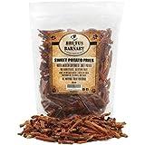 Brutus & Barnaby Sweet Potato Dog Treats- No Additive Dehydrated Sweet Potato Fries, Grain Free, Gluten Free and No Preservatives Added (14 oz)