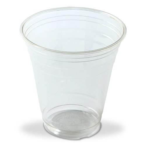 Clear 12 oz Drink Cup - 1,000 Case (20 Packs of 50) by Uniq