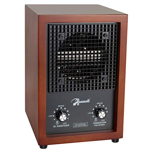 - Mammoth Cherry Wood Ionic Ion & Ozone Generator Home Use Air Purifier Deodorizer Sterilizer