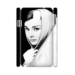 D-PAFD Diy Case Audrey Hepburn,customized Hard Plastic case For samsung galaxy note 3 N9000